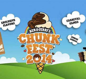 Ben & Jerry ChunkFest 2014 Happening Early October @ Meadows by the Bay