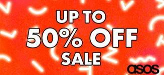 ASOS Mid-Season Sale Offers up to Half-Price 50% Discounts Now Online