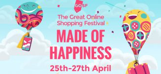 Singapore's edition of the Great Online Shopping Festival (GOSF) 2016 has begun