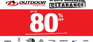 Outdoor Venture Sports Warehouse Clearance Sale is happening this weekend