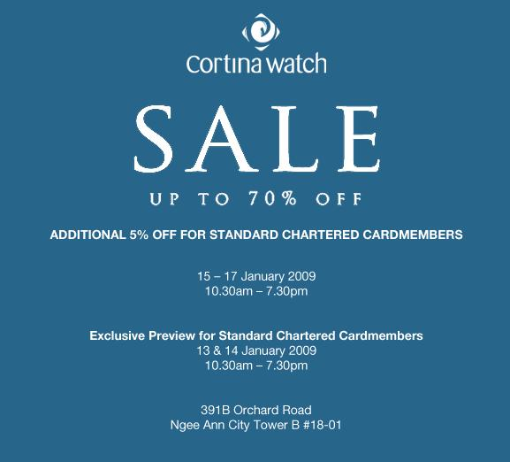 Cortina Watch Sale